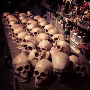 before skulls