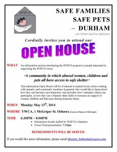 Safe Families Safe Pets Durham